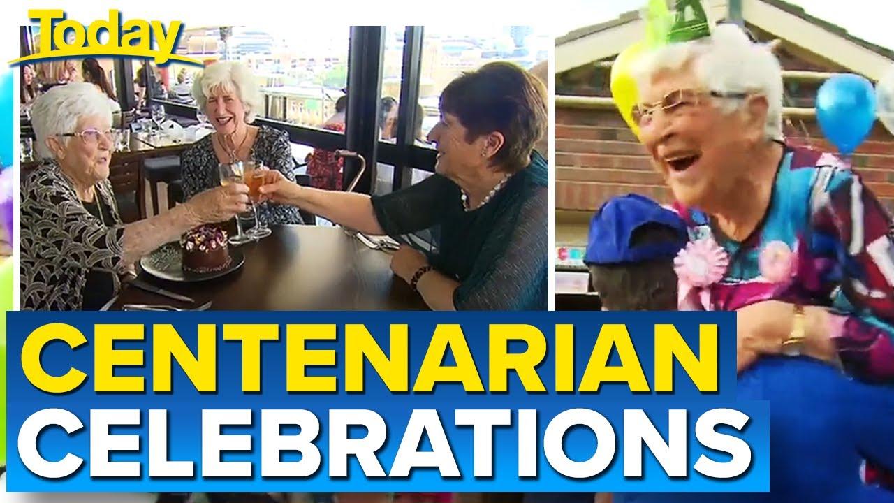 Coronavirus: Grandmother's 100th birthday surprise during COVID-19 | Today Show Australia