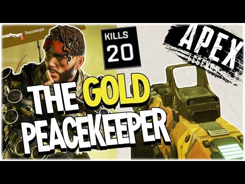I FOUND A GOLD PEACEKEEPER – 20 KILLS WITH MIRAGE (PS4)