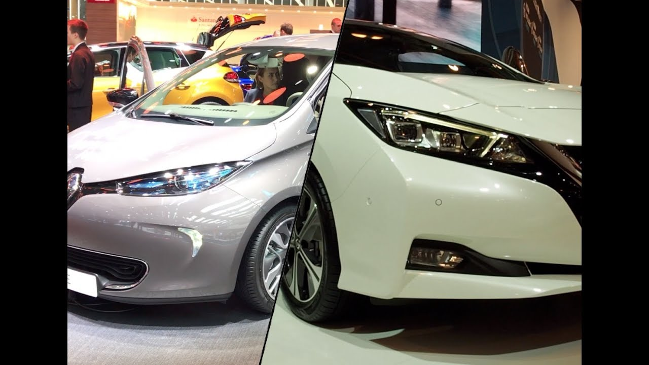 Image result for nissan leaf 2018 vs renault zoe