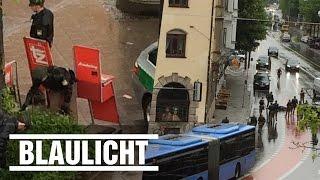 Scherenmann in München von Polizei niedergeschossen