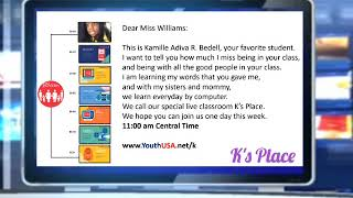 Ks Place Kamille Letter To My Teacher