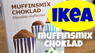 IKEA Muffinsmix Choklad - chocolate muffin mix