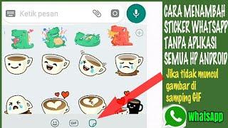 Download Video cara menampilkan stiker WhatsApp yang sudah di update tapi tidak bisa muncul stikernya MP3 3GP MP4