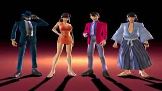 Lupin the 3rd Treasure of Sorcerer King - Opening - PS2