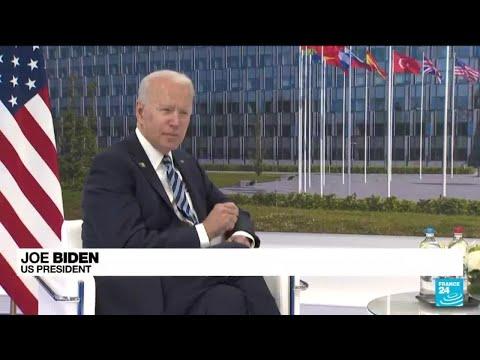 """Defence of Europe is a """"sacred obligation"""", Biden tells NATO"""