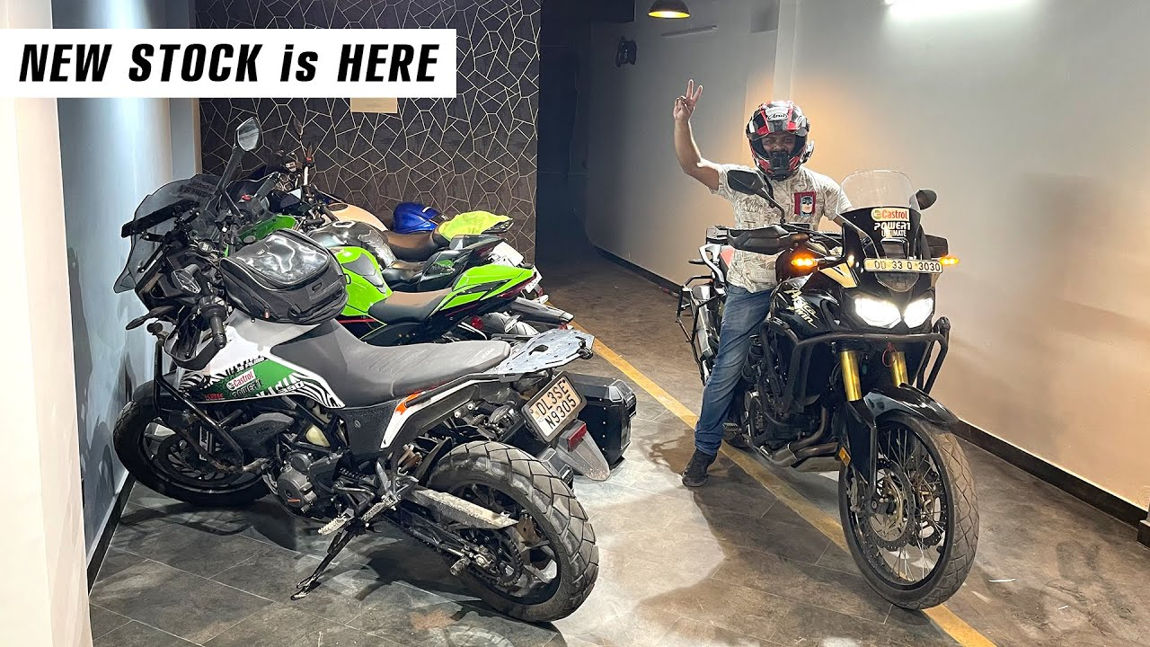New AFRICA TWIN in my garage!!