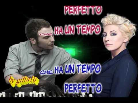 Raphael Gualazzi &  Malika Ayane - Buena fortuna (karaoke - fair use)