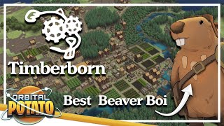 Building The Perfect Beaver Town - Timberborn - City-builder Management Game