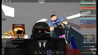 Roblox SCPF ISD letting Class D out!