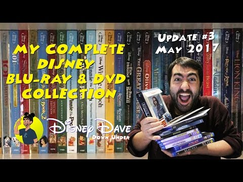 My Complete DISNEY Blu-Ray & DVD Collection: UPDATE #3 - May 2017 (DMC Movies & Rogue One)