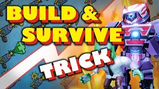 Un TRICK per vincere! 🤖 BUILD > SURVIVE - ROBLOX Tedesco