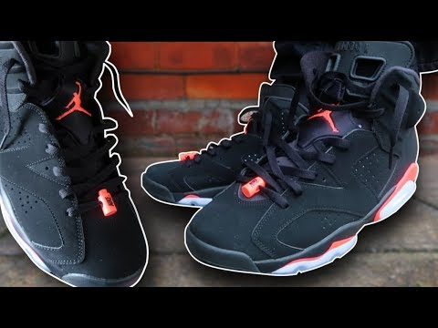 How To Lace Jordan 6's (w/ ON FEET