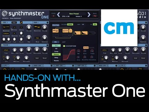 SynthMaster One: Hands-on with Computer Music magazine