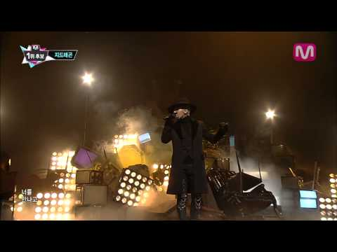 G-DRAGON_Black feat. JENNIE KIM (Black by G-Dragon feat. JENNIE KIM@Mcountdown 2013.9.12)