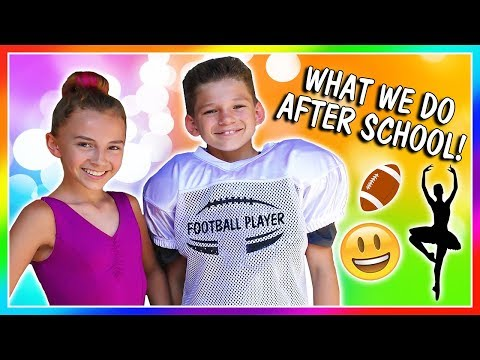 IS MOM TRYING TO PRANK US? | OUR AFTER SCHOOL ACTIVITIES | We Are The Davises