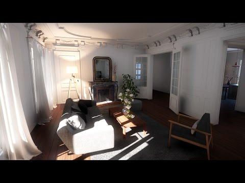 CryENGINE 3 Baron Haussmann Interior SVOGI DEMO 1440p/60fps