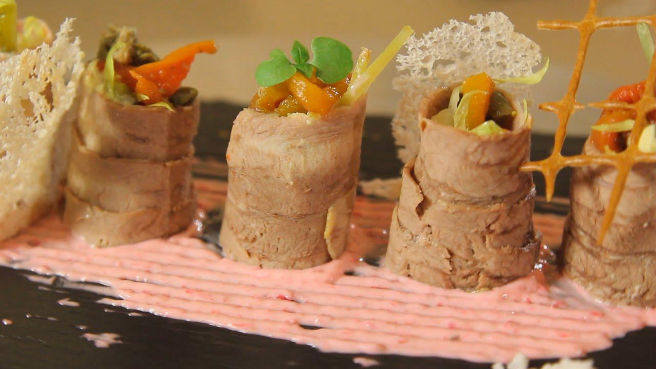 рулетики из языка говяжьего рецепт с фото