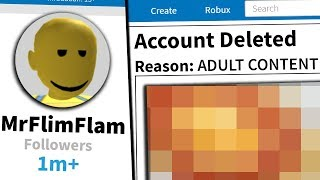 My Roblox account is permanently deleted.