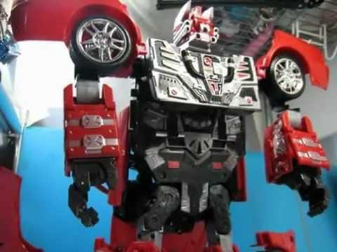 Happy Well:ROADBOT LANCER EvolutionIX   change Into A Robot.