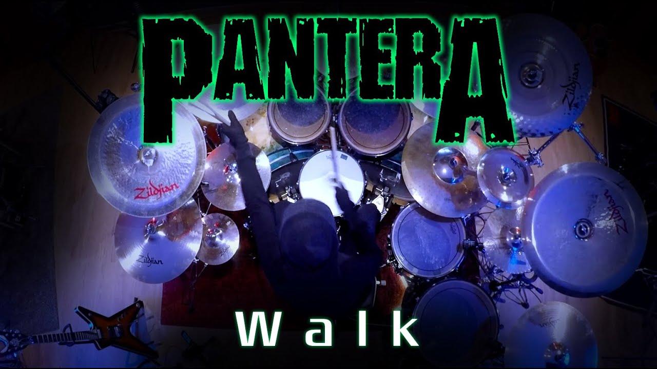 265 Pantera - Walk - Drum Cover