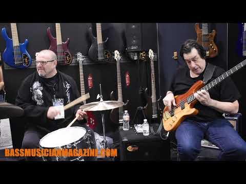 Bass Musician Magazine - NAMM 2019 - Jeff Berlin 1