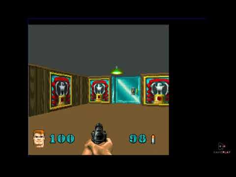 Wolfenstein 3D Jaguar Game Play |