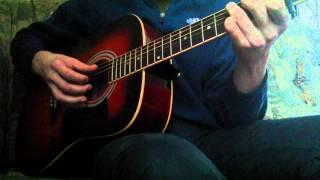 Sting - Shape Of My Heart(гитара)