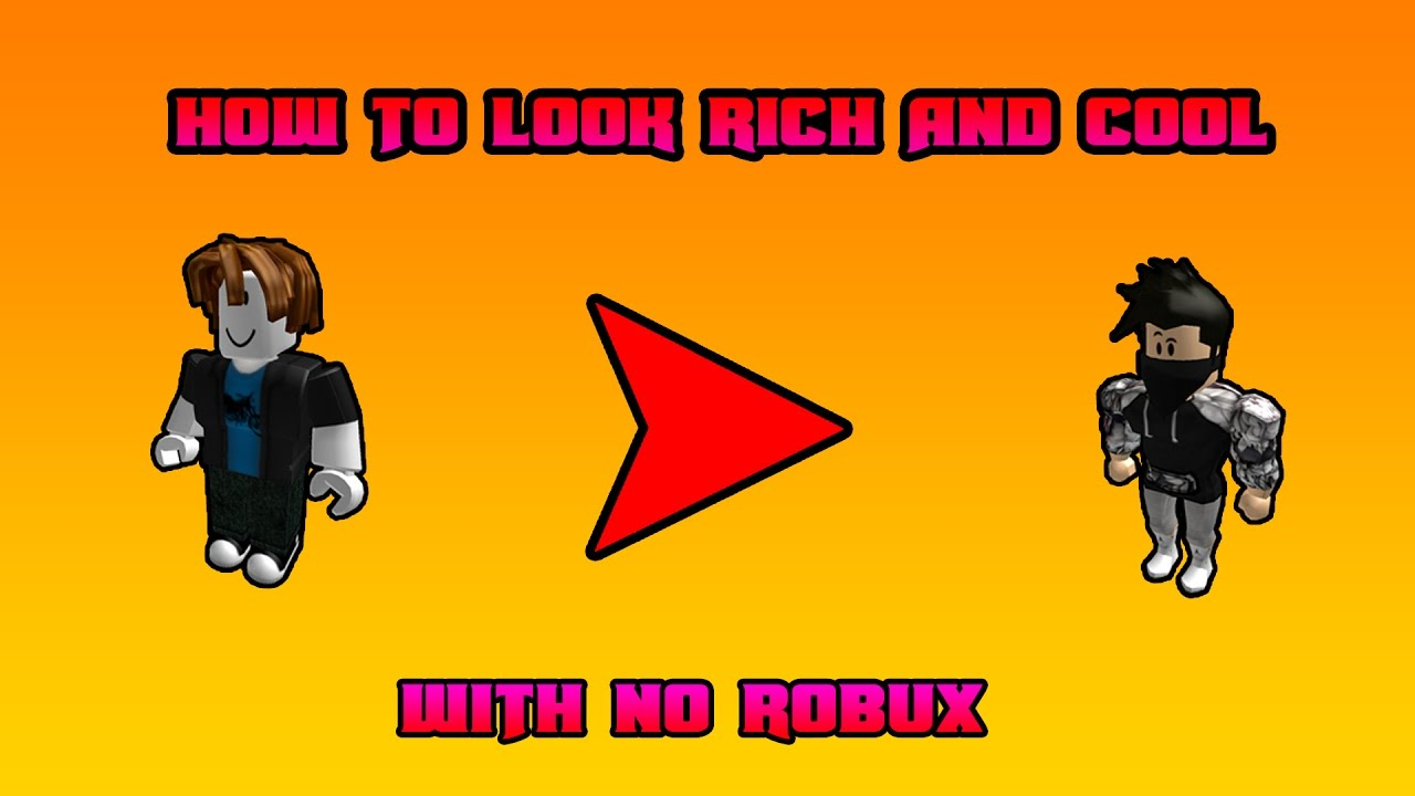 How To Be Rich In Roblox Without Robux - Roblox How To Look Richlike Pro People With No Robux 2017 Boys Version 2