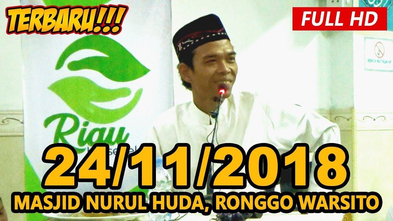 Ceramah Terbaru Ustadz Abdul Somad Lc, MA - Masjid Nurul Huda, Ronggo Warsito, Pekanbaru