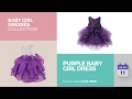 Purple Baby Girl Dress Baby Girl Dresses Collection