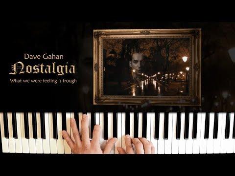 Dave Gahan - Nostalgia ''Mirror'' Easy Piano Cover