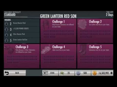 Injustice GAU Android: How to bring back an expired challenge (and why it's  mostly useless)