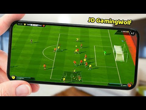 Top 10 Football Games For Android   Best Football Games For IOS 2019   JD GamingWolf