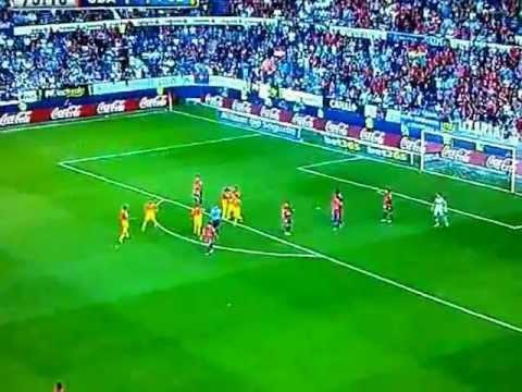 Lionel Messi Goal - Osasuna 1-2 Barcelona - 26th August 2012 - Liga BBVA!