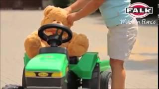 Ποδοκίνητο τρακτέρ για ηλικίας παιδιά 2-5 ετών 976 A