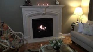Elizabeth Cast Stone Fireplace Mantel