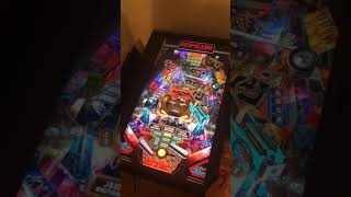 Stern Pinball Arcade Nintendo Switch AC/DC gameplay portrait mode