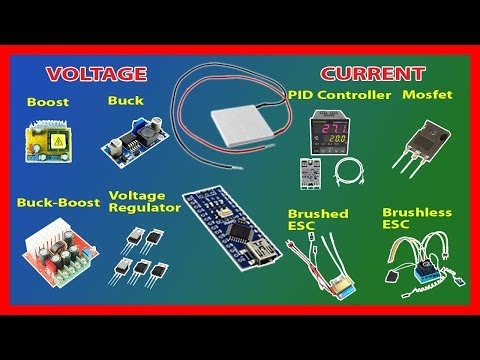 ⚡️ How to control Thermoelectric Cooler (Peltier) Power