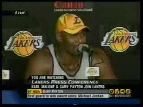 Karl Malone & Gary Payton Join Lakers