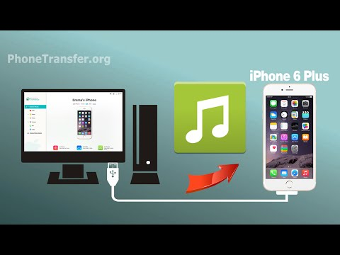 How to Transfer Music from Computer to iPhone 6 Plus, Import Songs to iPhone SE/6S without iTunes