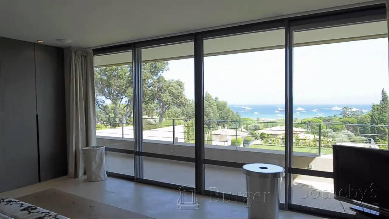 Visite vidéo d'une villa moderne sur saint tropez / virtual tour ...