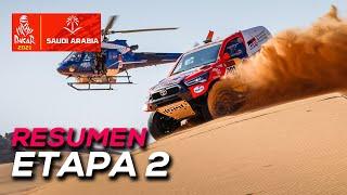 Al-Attiyah gana y Sainz sufre problemas de motor | Resumen Etapa 2 Dakar 2021 | SoyMotor.com