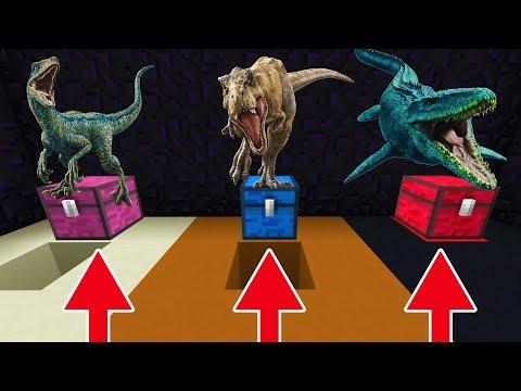 Do Not Choose The Wrong Chest (Raptor, T Rex, Mosasaurus)