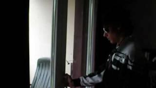 Michael au balcon