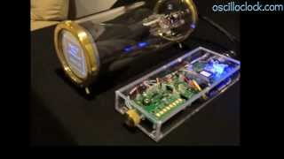 Repeat youtube video 2013 Model 1-S Scope Clock from Oscilloclock.com