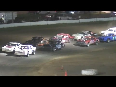 Pure Stock Feature | McKean County Raceway | 9-7-14