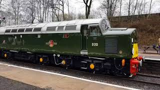 Class 40s At 60  Event At East Lancs Railway - Friday 13th April 2018