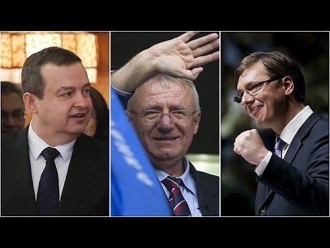 Rotunda victoria del Primer ministro, Aleksandar Vucic, en las elecciones de Serbia