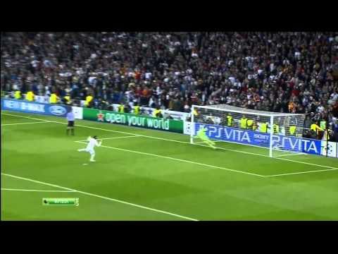 Penalty fallado por Sergio Ramos contra el Bayern de Munich 2010