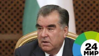 Рахмон открыл новое здание отдела охраны окружающей среды - МИР 24